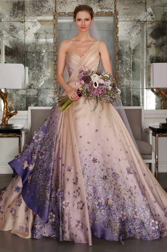 ideias de vestido de casamento diferentes