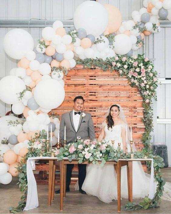 decoração criativa para casamento