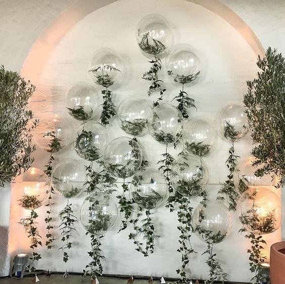 decoração criativa casamento